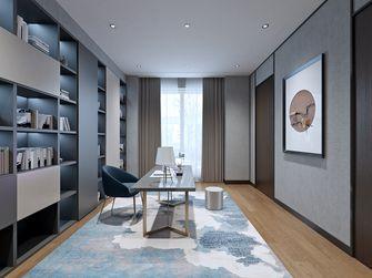 豪华型140平米四室两厅中式风格书房装修案例