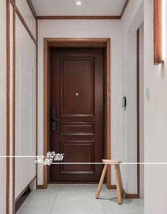 富裕型120平米三室两厅日式风格玄关设计图