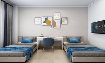 130平米三室一厅北欧风格卧室效果图