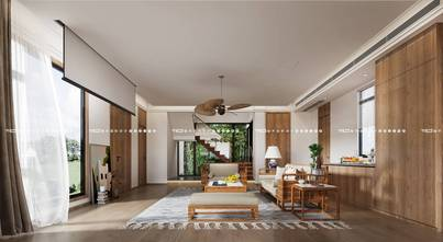 140平米别墅田园风格客厅欣赏图