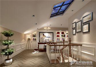 20万以上140平米别墅法式风格书房图