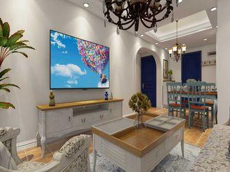 富裕型70平米地中海风格客厅欣赏图