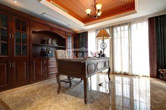 140平米四室三厅欧式风格书房图
