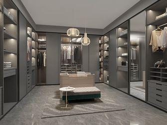 豪华型140平米四室两厅现代简约风格衣帽间效果图