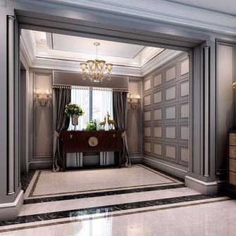 140平米三法式风格客厅图片大全
