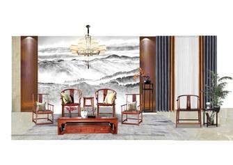 豪华型140平米三室两厅中式风格阳光房装修效果图