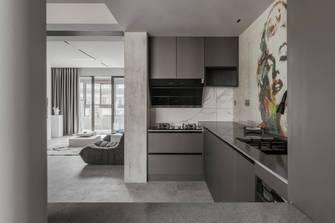 豪华型110平米三室两厅工业风风格厨房设计图