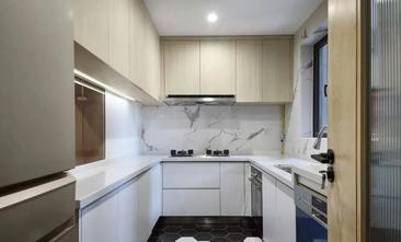 经济型90平米三室一厅日式风格厨房设计图