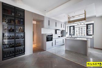 10-15万130平米三室两厅现代简约风格厨房欣赏图