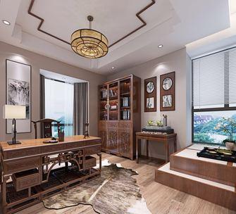 豪华型140平米复式现代简约风格书房欣赏图