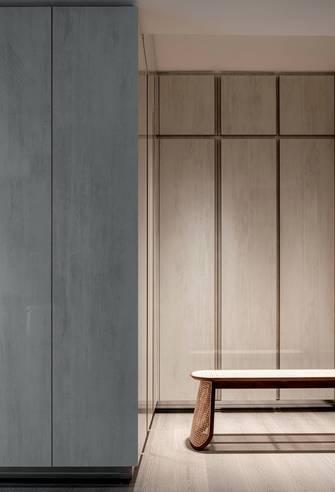 富裕型140平米三室两厅中式风格衣帽间装修案例