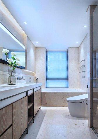 豪华型140平米四室一厅中式风格卫生间设计图