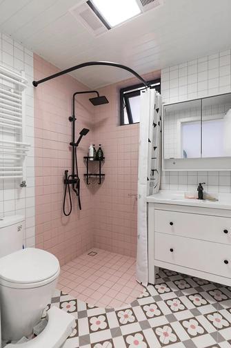 经济型60平米公寓北欧风格卫生间效果图