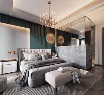 130平米三室一厅新古典风格卧室装修案例