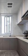 130平米四现代简约风格厨房图