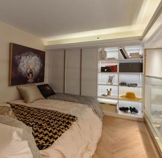 5-10万30平米小户型轻奢风格卧室装修案例