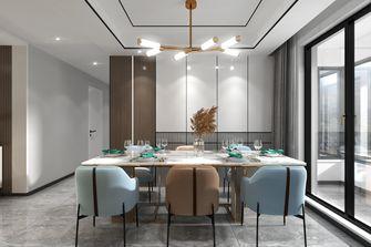 130平米三室三厅轻奢风格餐厅欣赏图