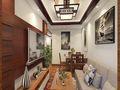 经济型40平米小户型东南亚风格客厅装修效果图