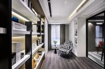 富裕型120平米三室两厅轻奢风格书房图片