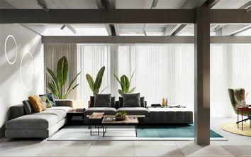 富裕型140平米四室一厅现代简约风格客厅图
