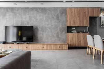 3万以下140平米复式北欧风格客厅装修效果图