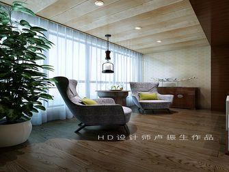 富裕型130平米三室两厅中式风格阳台装修图片大全