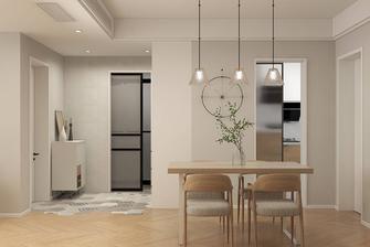 5-10万80平米公寓北欧风格餐厅图片大全