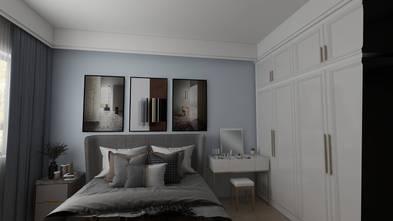 20万以上130平米复式轻奢风格卧室图