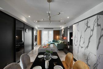 20万以上140平米三室一厅欧式风格餐厅图