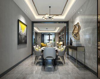 120平米三港式风格餐厅效果图