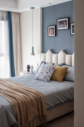 富裕型140平米三室一厅轻奢风格卧室设计图