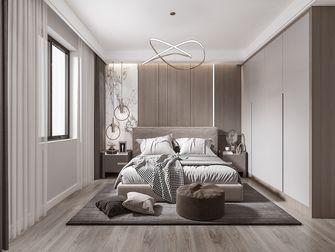 120平米四现代简约风格卧室设计图