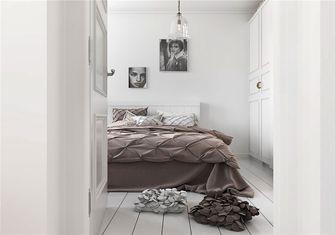 10-15万60平米公寓北欧风格卧室欣赏图