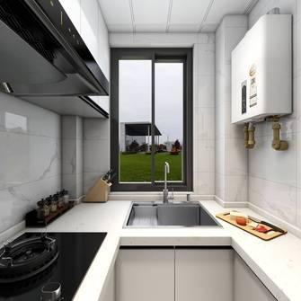 经济型50平米现代简约风格厨房欣赏图