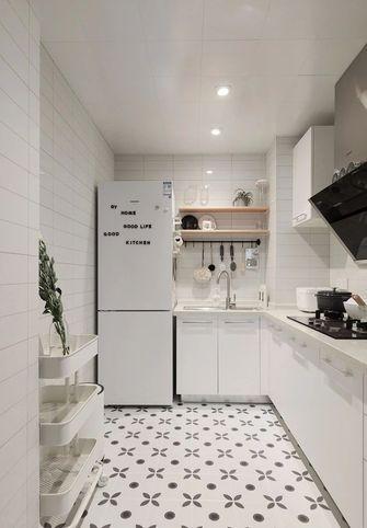 3-5万70平米北欧风格厨房装修图片大全