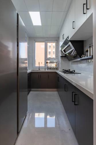 富裕型110平米三室两厅现代简约风格厨房图