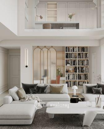 20万以上140平米复式法式风格书房欣赏图