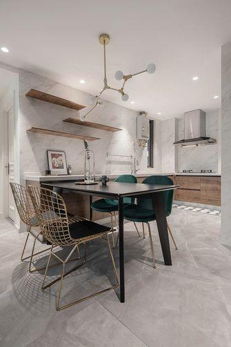 80平米三室两厅法式风格厨房装修案例