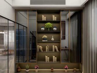 80平米三现代简约风格书房设计图