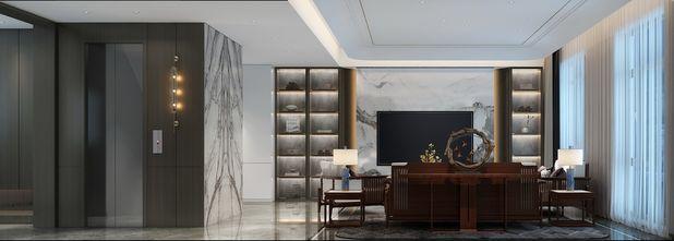 140平米四室三厅中式风格书房效果图