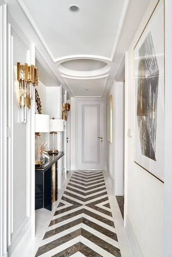 140平米三美式风格走廊图片