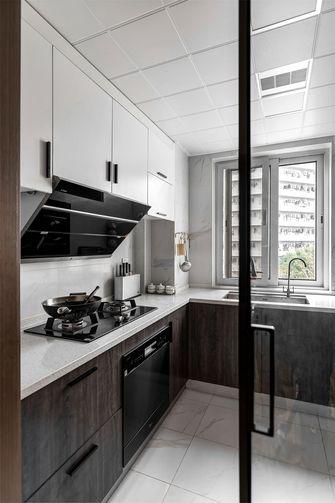豪华型110平米现代简约风格厨房设计图