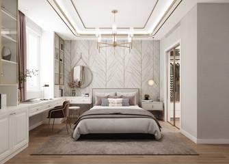 豪华型140平米四室四厅轻奢风格卧室装修案例
