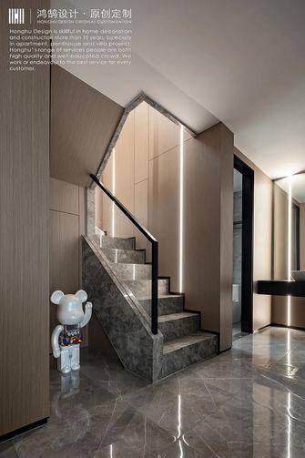 豪华型140平米复式现代简约风格楼梯间图片