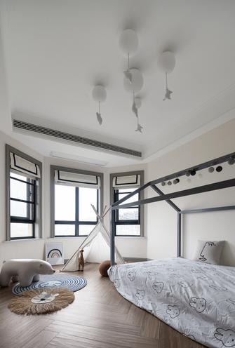 富裕型130平米三室三厅法式风格青少年房图