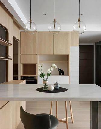 富裕型100平米三室两厅日式风格餐厅设计图