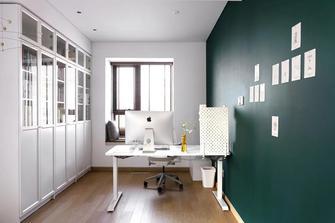 经济型140平米三室两厅现代简约风格书房效果图