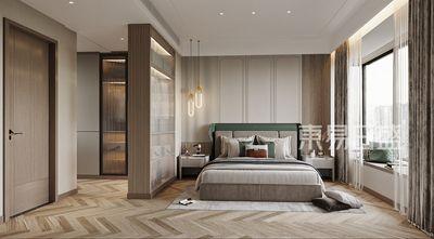 20万以上140平米别墅现代简约风格卧室图片大全