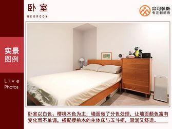 10-15万50平米小户型现代简约风格卧室装修案例