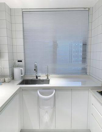 经济型100平米三室一厅现代简约风格厨房设计图